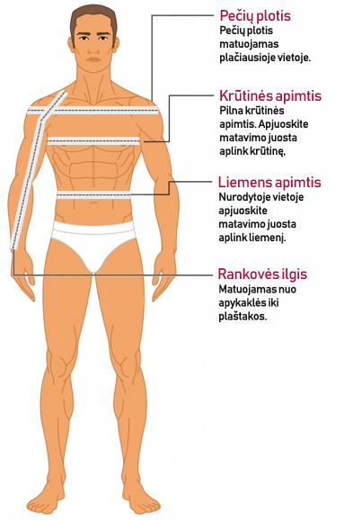 Vyriski nariai normalus dydziai Kaip padidinti nari ankstyvame amziuje