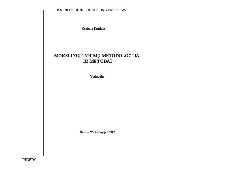 Metodologijos nario padidejimas